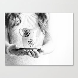 You are my cup of tea { Without text } Canvas Print