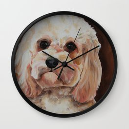 Emme The Cavapoo Wall Clock