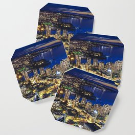 Voyeuristic 1556 Vancouver Cityscape Twilight View English Bay Vancouver Coaster