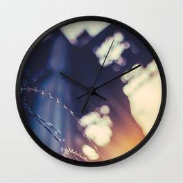 Post Industrial Glasgow Wall Clock