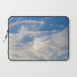 Irridescent Clouds Laptop Sleeve