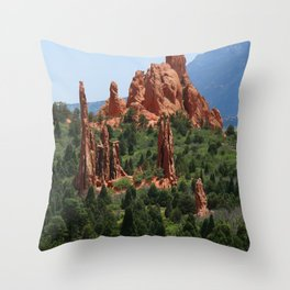 Cathedral Valley Throw Pillow