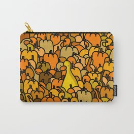 Duck in a Pumpkin Patch Carry-All Pouch