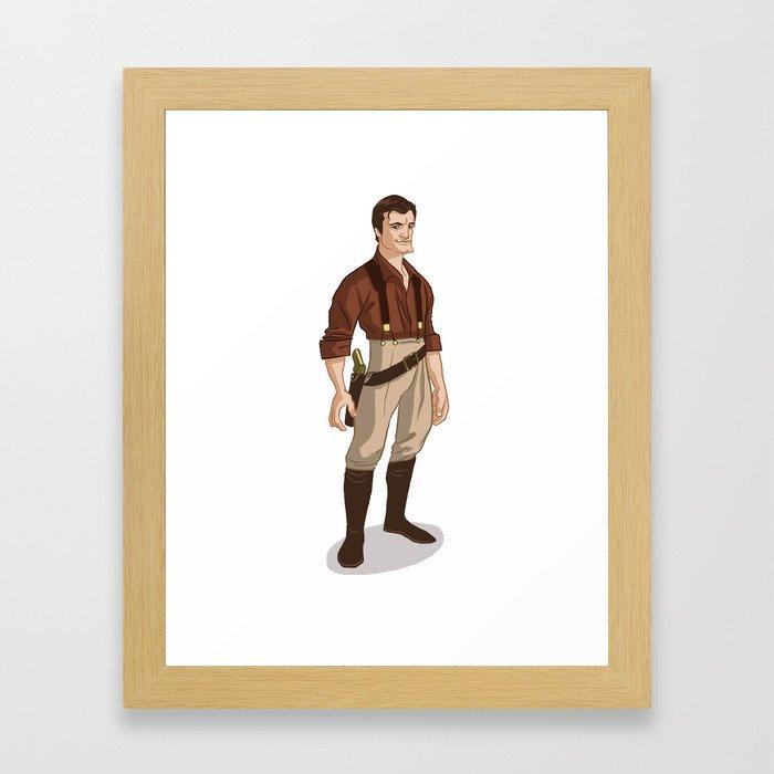 Captain Mal Framed Art Print
