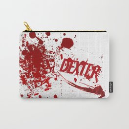 Dexter blood spatter Carry-All Pouch