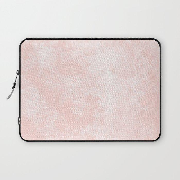 Pink Coral Marble Laptop Sleeve
