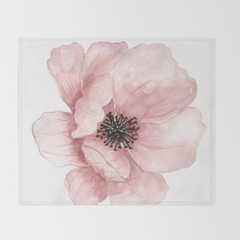 Flower 21 Art Throw Blanket