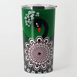 Peacock 5 Travel Mug