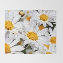 Daisy Flowers 0136 Throw Blanket