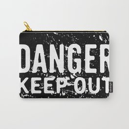 Danger Keep Out sign Carry-All Pouch