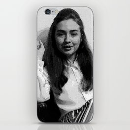 Young Hillary Clinton iPhone Skin