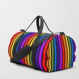 The Bold Rainbow Duffle Bag