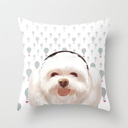 Let's Music Throw Pillow