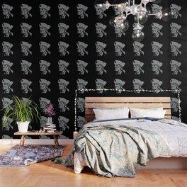 Patriot Head Metallic Icon Wallpaper