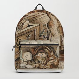 Tom Kitten looking for mice Backpack