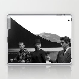 Collage Bande à part (Band of Outsiders) - Jean-Luc Godard Laptop & iPad Skin