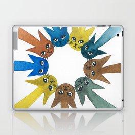 Rouen Whimsical Cats Laptop & iPad Skin
