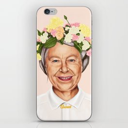 Hipstory - Queen Elizabeth iPhone Skin
