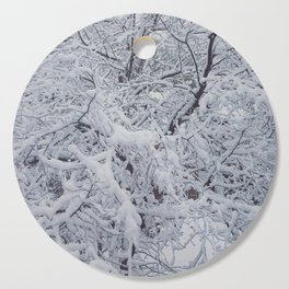 Snowy Branches Cutting Board