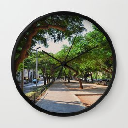 Rothschild avenue Wall Clock