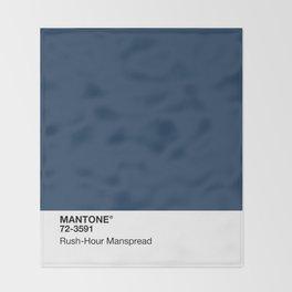 MANTONE® Rush-Hour Manspread Throw Blanket
