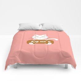 Hug Me Nyanko Comforters