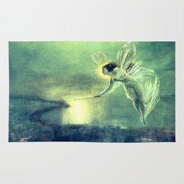 Spirit of the Night by John Atkinson Grimshaw Rug
