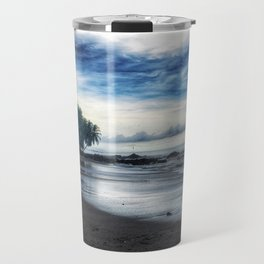 Silver Oceans Travel Mug