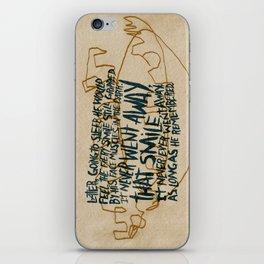 RIP Ray Bradbury iPhone Skin