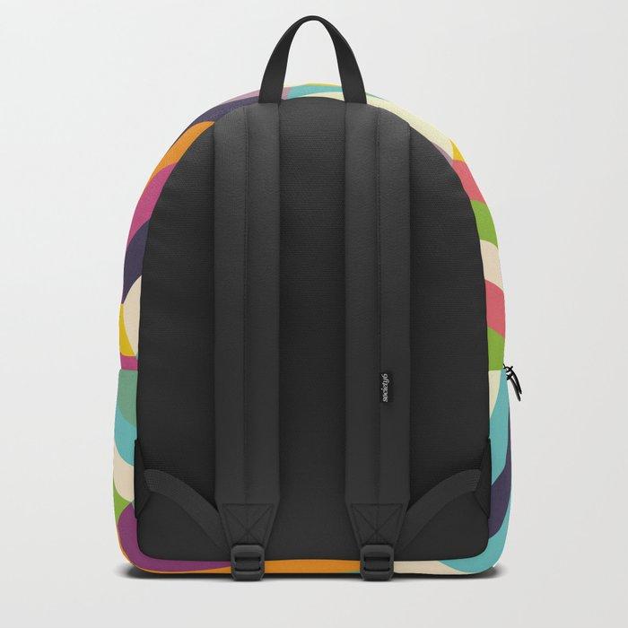 Heptagon Quilt 1 Backpack