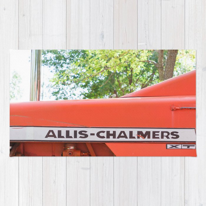 Allis - Chalmers Vintage Tractor Rug