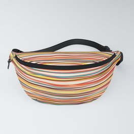 Colored Lines #1 Fanny Pack