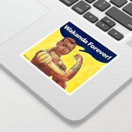 Wakanda Forever Sticker