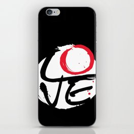 LOVE CYCLE iPhone Skin