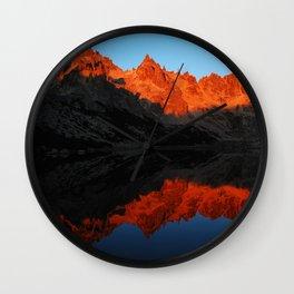 Refugio Frey // Argentina Wall Clock