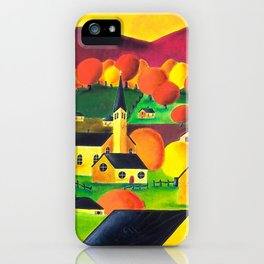 Welcome to autumn land iPhone Case