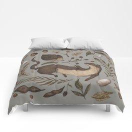 Weasel and Hedgehog Comforters
