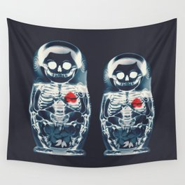 Nesting Doll X-Ray Wall Tapestry