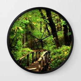 Bridge To A Fairy Tale Wall Clock