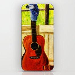 Tex's Guitar iPhone Skin