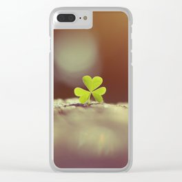 Lucky for You Clear iPhone Case