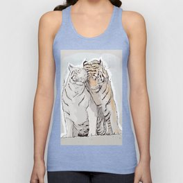 Tiger Love Unisex Tank Top