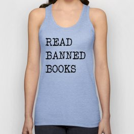 Read Banned Books Unisex Tank Top