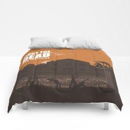 The Walking Dead Prison Walkers Comforters