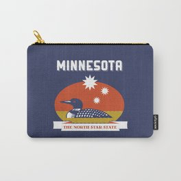 Minnesota - Redesigning The States Series Carry-All Pouch