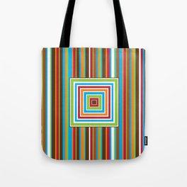 Festive Stripes Tote Bag