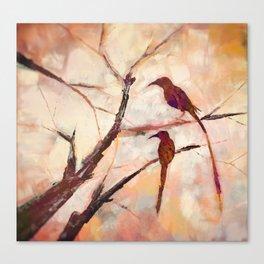 Sugarbirds Canvas Print