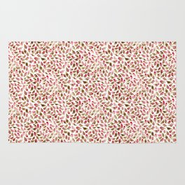House Finch Pattern Rug