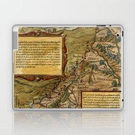 Map Of The Holy Land 1544 Laptop & iPad Skin
