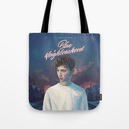 Blue Neighbourhood Tote Bag